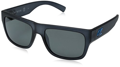 0a811744679c3 Kaenon Polarized Montecito Graphite Black Bright Blue Fashion Sunglasses  55mm