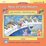 Music for Little Mozarts: CD 2-Disc Sets for Lesson and Discovery Books, Level 1 ()