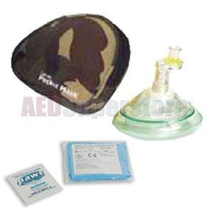 Laerdal Pocket Mask (Laerdal Pocket Mask w/Gloves & Wipe in Nylon Camouflage Case - 82004233)