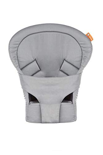 Baby Tula Gray Infant Insert for Standard Baby Carrier, Newborn Carry from 7 to 15 pounds
