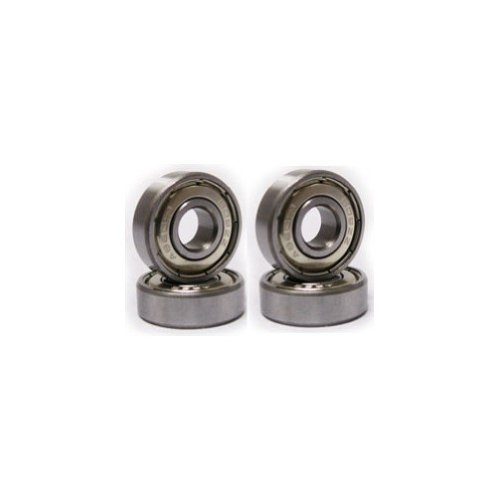 Caster/Scooter Bearings 1 Set of 4 Bearing Metal Shields Fits Kick Scooters
