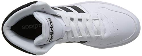 Mid ftwr core 0 Zapatos Adidas Black 2 Hombre Para Baloncesto Black White Hoops De core Blanco CtFFqav