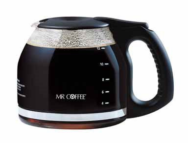 (Mr. Coffee Replacement Carafe Black)