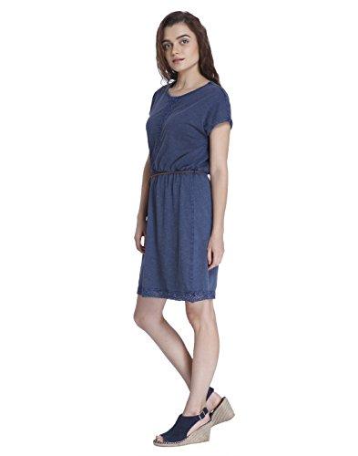 Moda Robe Blazer Vmspirit Navy JRS Femme Dress SS DNM Wide Bleu Vero Short gdq1x8dw