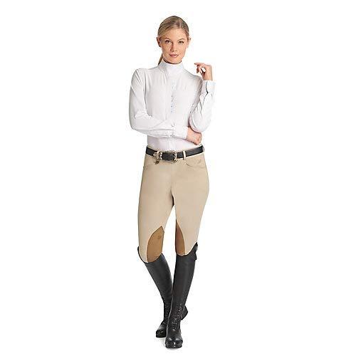 Ovation Ladies Hunter Side Zip KP Breech 34R -
