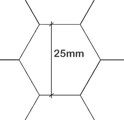 Maschendrahtzaun Kaninchendraht K/ükendraht Hasendraht gr/ün Draht 30-100 cm H/öhe Sechseckgeflecht Sechseckdraht Maschenweite: 13 mm H/öhe: 50 cm