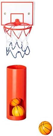Balvi Canasta Baloncesto Private con 3 Pelotas Juego de Basket para el WC Plástico ABS/plástico PVC: Amazon.es: Hogar