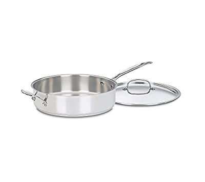 Cuisinart Chef's Classic Stainless Steel 5.5-qt. Saute Pan with Handles
