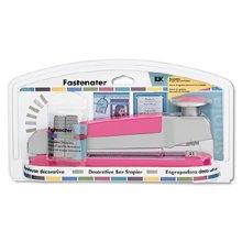 EK Success Fastenater Decorative Stapler, Pink
