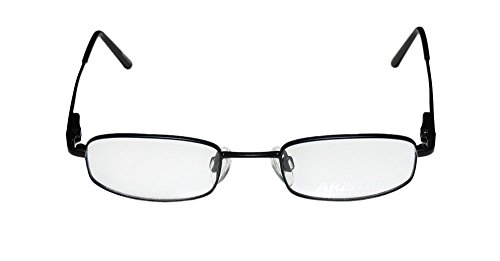Aristar 6609 Mens/Womens Designer Full-rim Eyeglasses/Eyeglass Frame (44-18-125, Black)