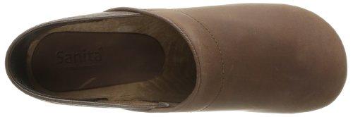 Sanita Wood-Jamie closed 1201005M-78 - Zuecos de cuero para hombre marrón - Braun (Antique Brown 78)