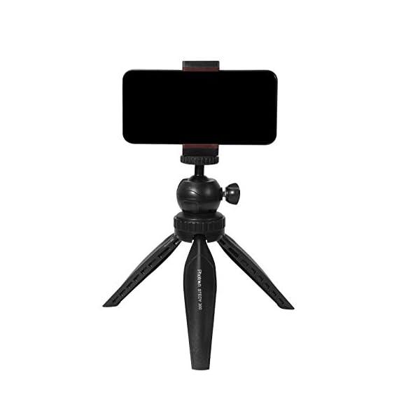 RetinaPix Photron Stedy 300 Mini Tripod Kit with Ball Head Smart-Phone Holder