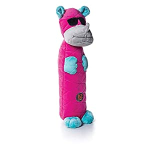 Charming Pets Bottle Bros Rhino Squeak Toy, 11 x 12 x 35.2cm Click on image for further info.
