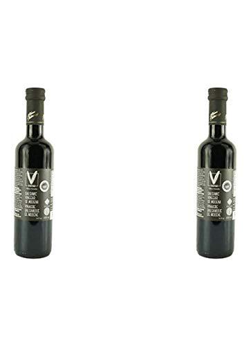 Mushroom Pasta Portabella (Viniteau Balsamic Vinegar of Modena IGP (6%) Silver - 16.9 fl oz (500 ml) | PGI Certified, Imported From Italy (2 pack))