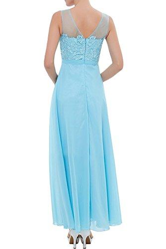 Blau Mit Gruen Hell Braut Partykleider Langes Festlichkleider Promkleider Abendkleider Brautmutterkleider mia Anmutig La Spitze IPOBBq
