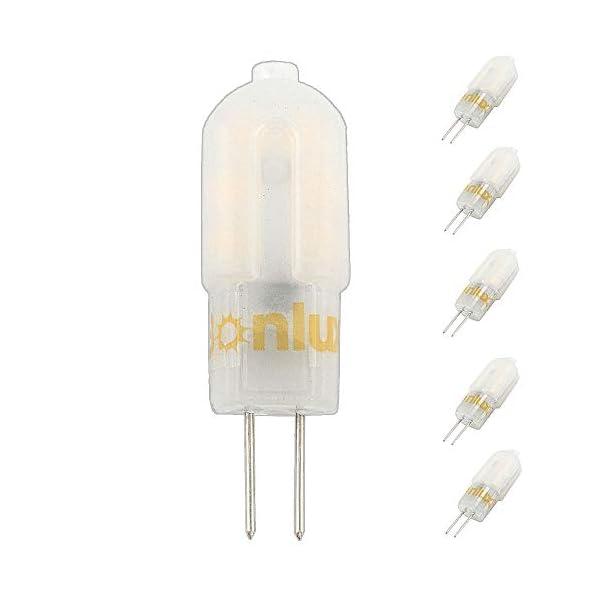 Bonlux G4 12V LED Lampadina 3W Bianco Caldo 3000K LED G4 Capsule 25W Lampada Alogena Sostitutiva Lampadario (Non… 1 spesavip