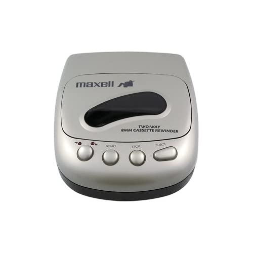 Image of Blank Media Maxell 8MM-RW1 8mm Cassette 2-Way Rewinder (Discontinued by Manufacturer)