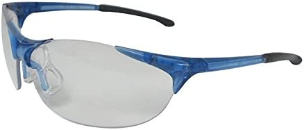 Bollé Boa Safety Spectacles Anti Scratch Blue Lens Eye Protection Work Glasses