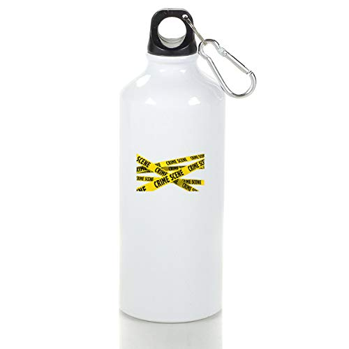 (STIMHWHH CSI Crime Scene Investigation Season Aluminum Outdoor Sports Bottle Perfect for Running L)