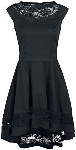 Kleid Stripe schwarz Banned Schwarz Lace 6vznqqga