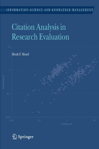 Research Evaluation (Information Science and Knowledge Management) by Henk F. Moed (2011-01-11) (Citation Castle)