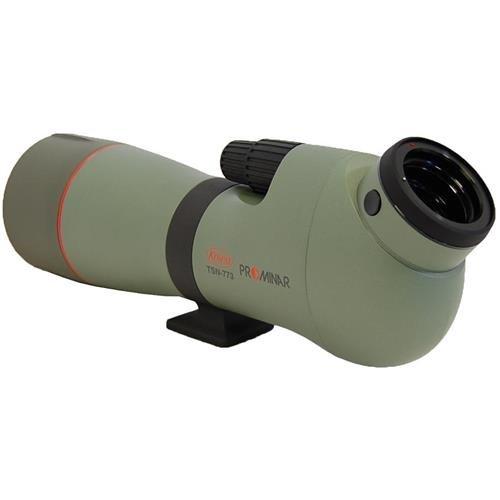 Kowa TSN-770 Series Angled Body High Performance Spotting Scope with PROMINAR XD Lens, 77 mm Green