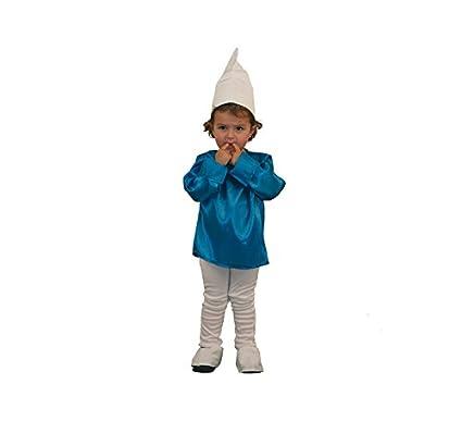 Disfraz de Duende Azul para niños de 1 a 2 años