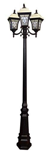 Special Lite Products Abington F-3980-TRI-BLK Tri Light Unit, Black