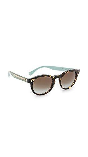 Fendi Women's Tortoise Bright Side Sunglasses
