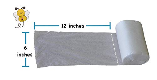 Kashmir Baby Organic Bamboo (300 Count) Cloth Diaper Liners/ Wipes use Wet or Dry.