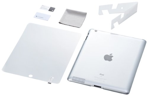 Simplism Crystal - Simplism Japan Crystal Cover Set for iPad 2 - Crystal Clear (TR-CCSIPD2-CC/EN)