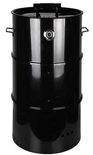 Esschert Design Three-in-One Barrel Smoker, Large