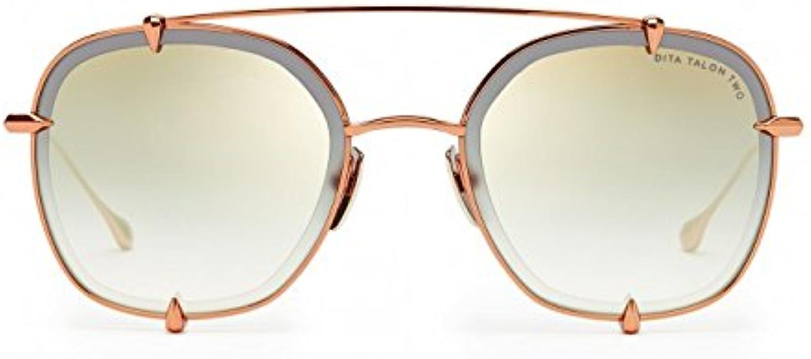 180fa178437 DITA Luxury Eyewear Sunglasses Talon-two 23009-B-RGD-54 Rose Gold ...