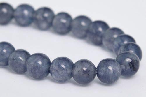 4mm Natural Grey Jade Gemstone Beads Grade Round Loose Beads 7.5'' Crafting Key Chain Bracelet Necklace Jewelry Accessories Pendants
