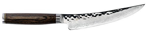 Shun TDM0774 Premier Gokujo Boning Fillet Knife, 6'', Silver by Shun