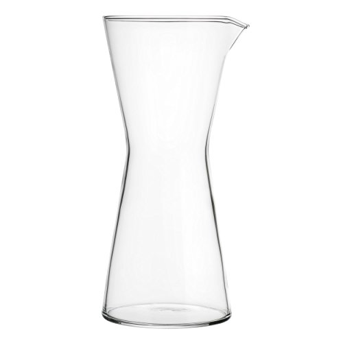 - Iittala Kartio Carafe, Water Carafe, Jug, Glass Carafe, Glass, Transparent, 950 ml, 1007051