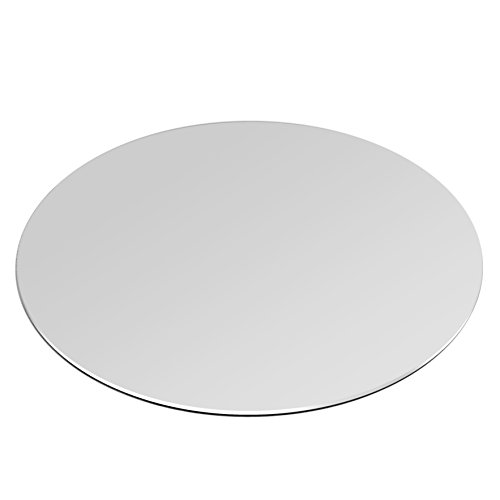 Aluminum Mouse Pad silver round