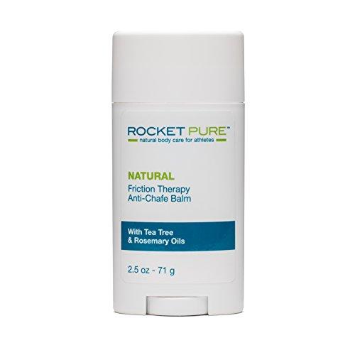 Rocket Pure Natural Anti Chafe Balm No Mess Stick Protection 2 5 oz 71 g