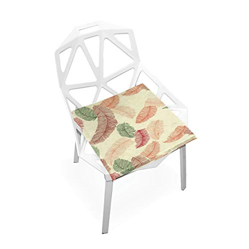 Pingshoes Seat Cushion Feathers Chair Cushion Offices Butt Chair Pads Square Car Mat for Outdoors