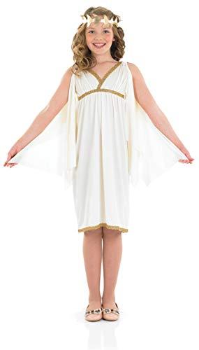 fun shack Kids Cleopatra Girl Costume Girls Ancient Egyptian Queen Dress - X-Large]()