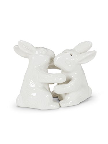 Abbott Collection 27-Hug/Rabbit Salt and - Shakers Hug Salt Pepper