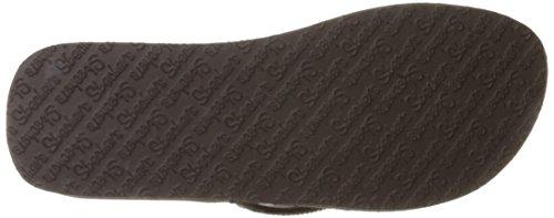 Skechers 38648, Chanclas Mujer Chocolate Gem
