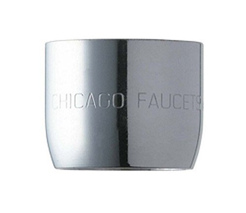 Chicago Faucets E3JKCP Pressure Compensating Softflo Aerator, Chrome by Chicago Faucets