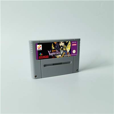 Game card Castlevania Vampire's kiss - Action Game Card EUR Version English Language Game Cartridge 16 Bit SNES
