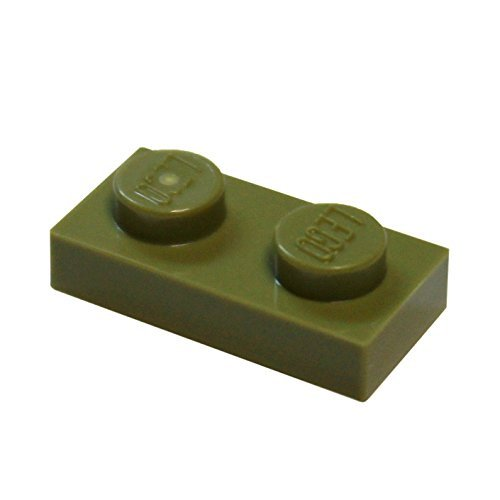 LEGO Parts Pieces Olive Green