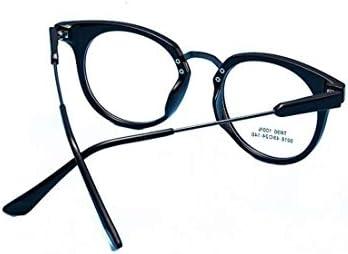 H54eru1z 男性と女性の非処方眼鏡のためのレトロな猫のメガネコンピュータのメガネ 6awa23z (Color : Black)