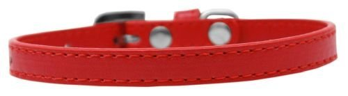 Mirage Pet Products 509-1 RD-16 Omaha Plain Puppy Dog Collar, Red, Small from Mirage Pet Products