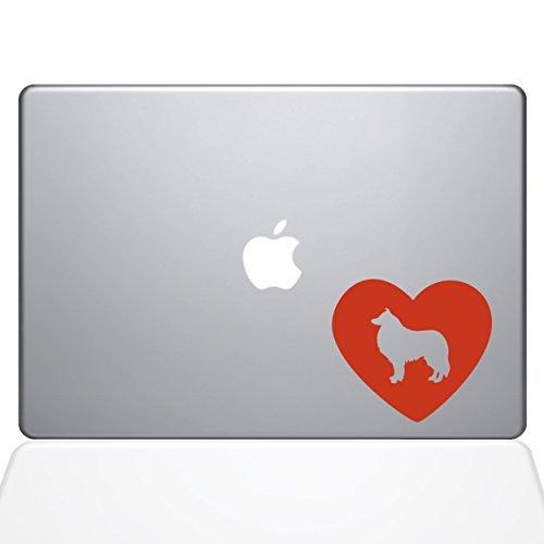 ベストセラー The Decal Guru Heart Collie 13 Decal Decal Vinyl Sticker & 13 MacBook Pro (2015 & Older Models) Orange (1606-MAC-13P-P) [並行輸入品] B0788GCC4F, まごころ本舗:70cbfb31 --- svecha37.ru