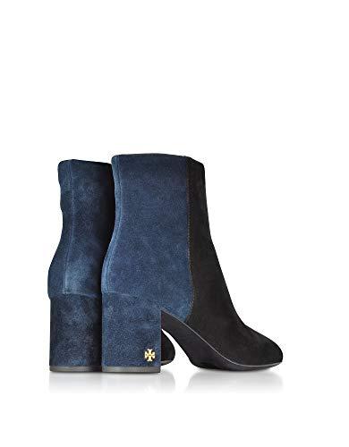 Burch Bottines Femme noir 46920014 Bleu Cuir Tory dqYwId