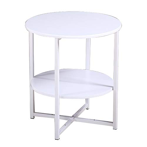 Table - Sofa Table, Wrought Iron Telephone Table, Bedside Table, Small Table Corner Table (Table Iron Telephone Wrought)